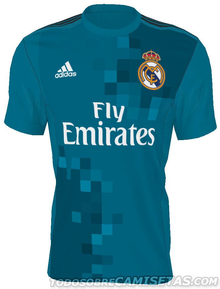 5dabfdd0c91ed Filtran las camisetas del Real Madrid para la próxima temporada 2017 ...